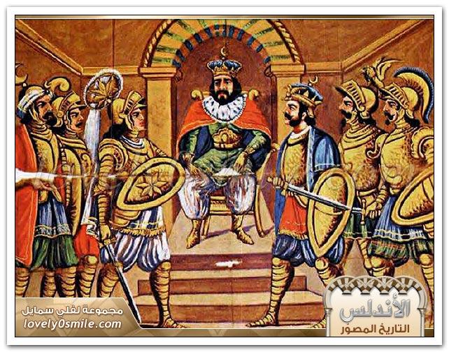 موسى وطارق يفتحان الأندلس