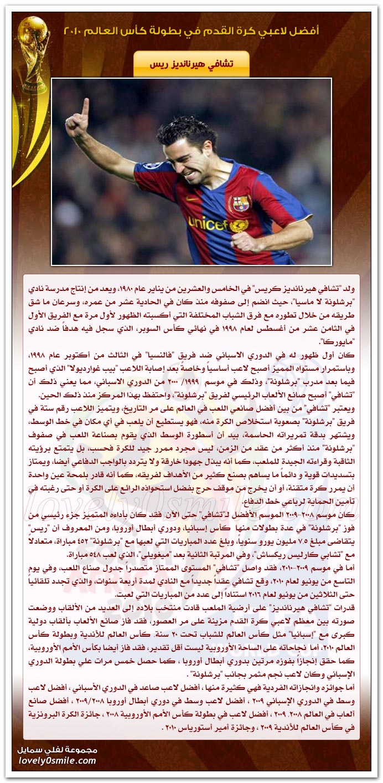 أفضل لاعبي كرة القدم في بطولة كأس العالم 2010