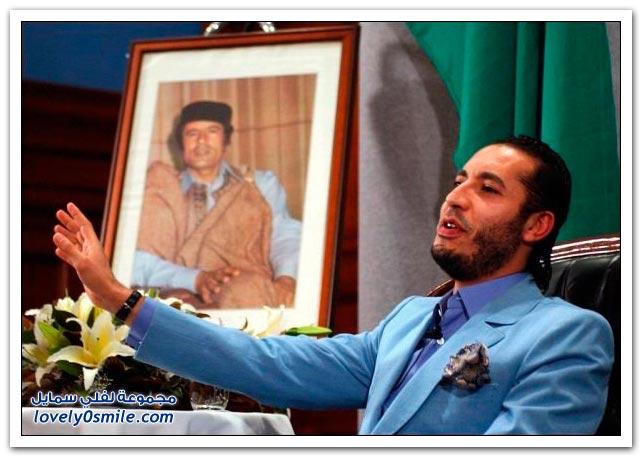 القذافي يحرق ليبيا وشعبها 028