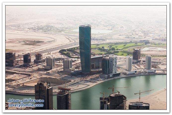 دبي نهاراً من برج خليفة