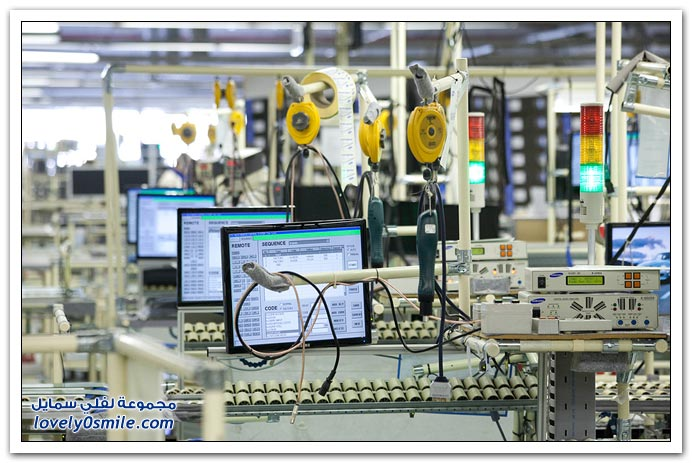 مصنع سامسونج للشاشات التلفزيون في روسيا
