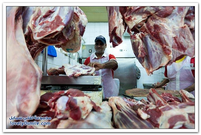صور من سوق السمك واللحوم في دبي