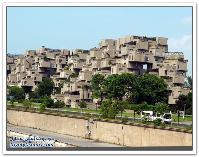 أغرب خمسة عشر مبني حول العالم