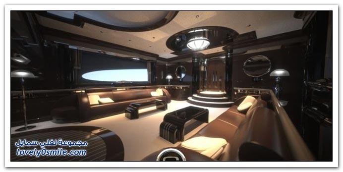قارب السوبر الطويل من أسرع القوارب في العالم بسرعة 375 ك.س