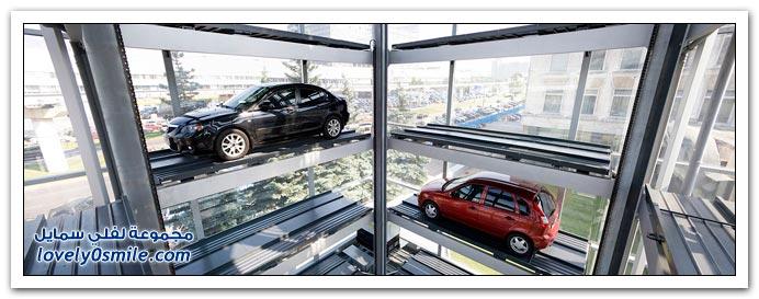 فكرة رائعة لمواقف سيارات