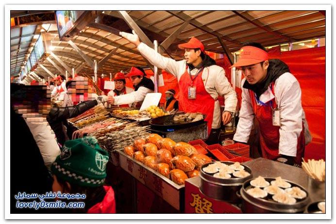 الوجبات السريعة في الصين