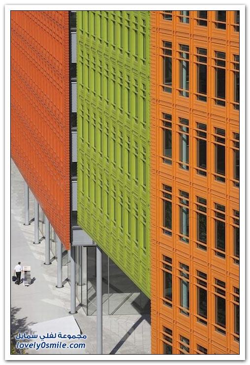 مباني ملونة ومميزة في لندن