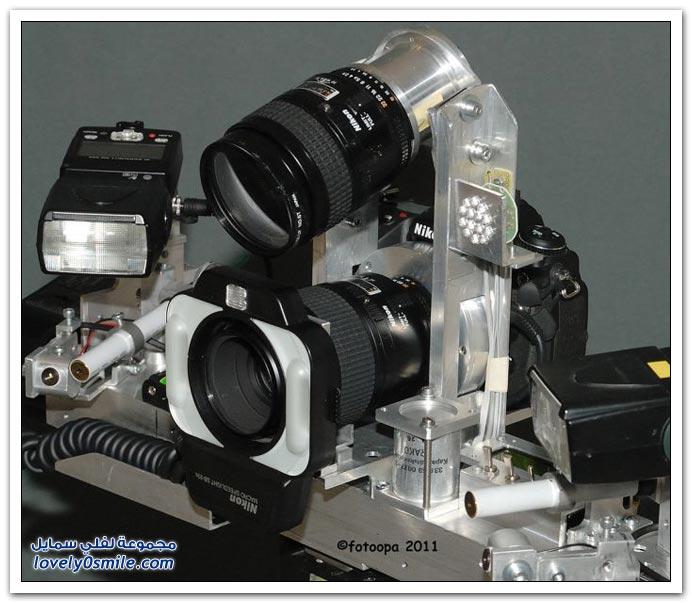 كاميرة لتصوير عالي الدقة