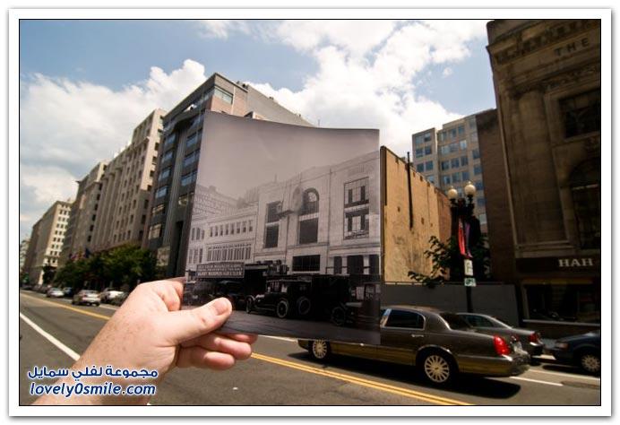 صور دمج الماضي بالحاضر ج2