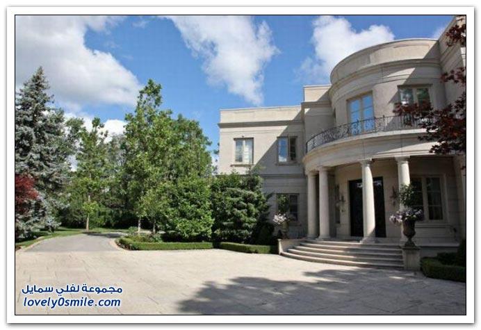 صور أغلى قصر في تورونتو ، كندا