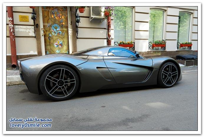 صور السيارة الرياضية الروسية