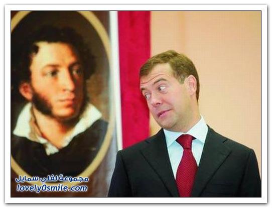 لحظات مع ديمتري ميدفيديف رئيس روسيا