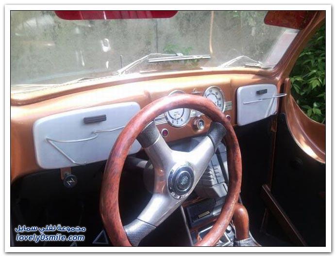 صور سيارة فخمة وقديمة صناعة روسية