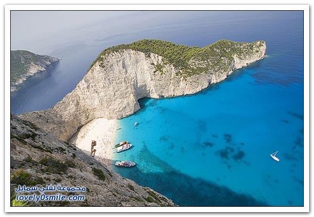 من أجمل الجزر جزيرة زاكينثوس في اليونان