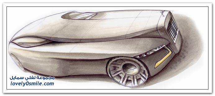 تصميم سيارة رولز رويس
