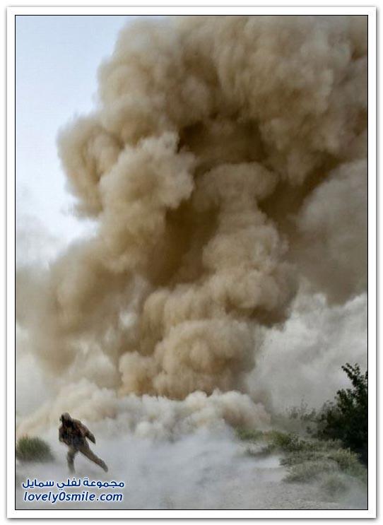 صور مختلفة من الحروب والصراعات حول العالم