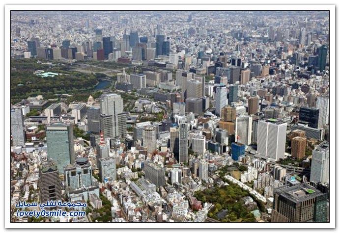 مدن العالم عبر الزمن