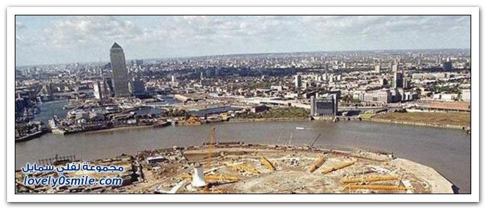 تغيرات بعض مدن العالم عبر الزمن