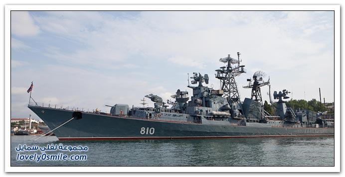 صور من ميناء البحر الأسود الروسي