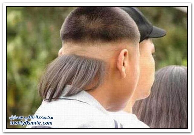 أكثر قصات الشعر غرابة