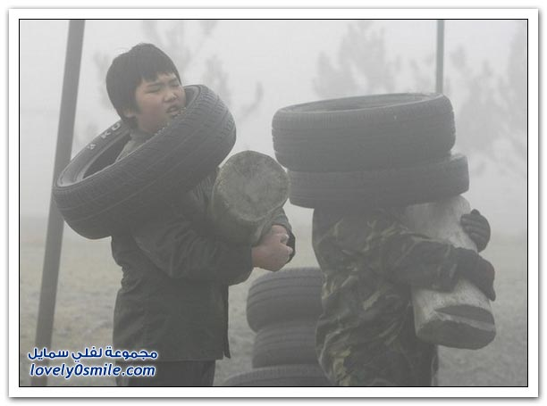 تدريب الأطفال في كوريا الجنوبية