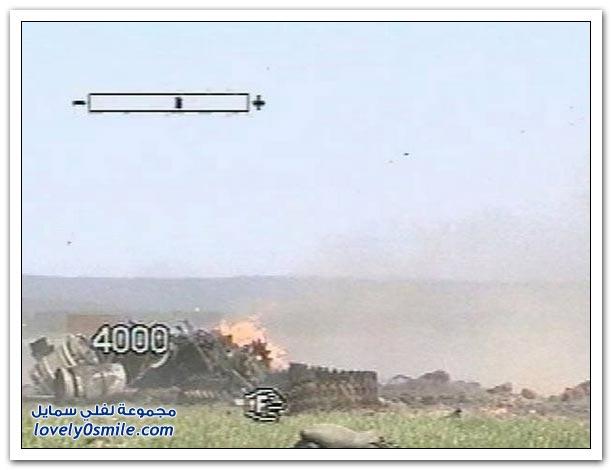 تدمير دبابة