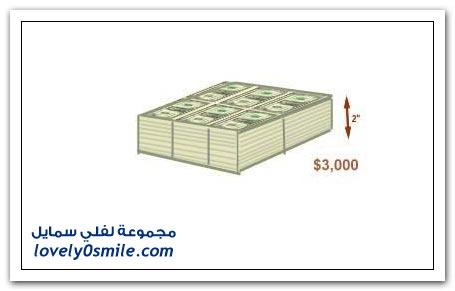 شكل 315 بليون دولار بفئة واحد دولار