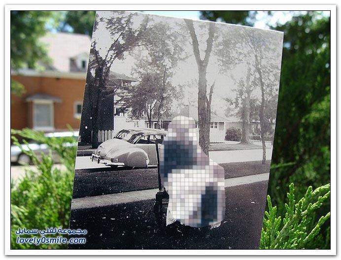 صور دمج الماضي بالحاضر ج1