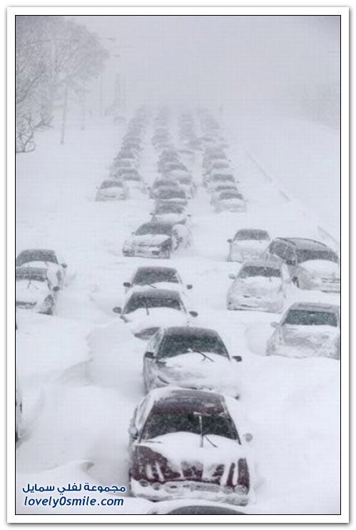 الشتاء في دول أوروبا