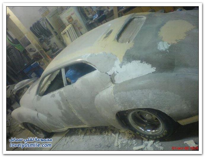 سيارة خردة بعد التعديل