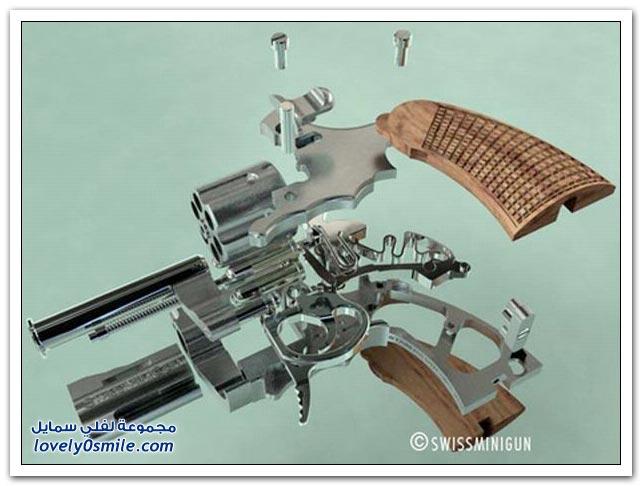 أصغر مسدس في العالم