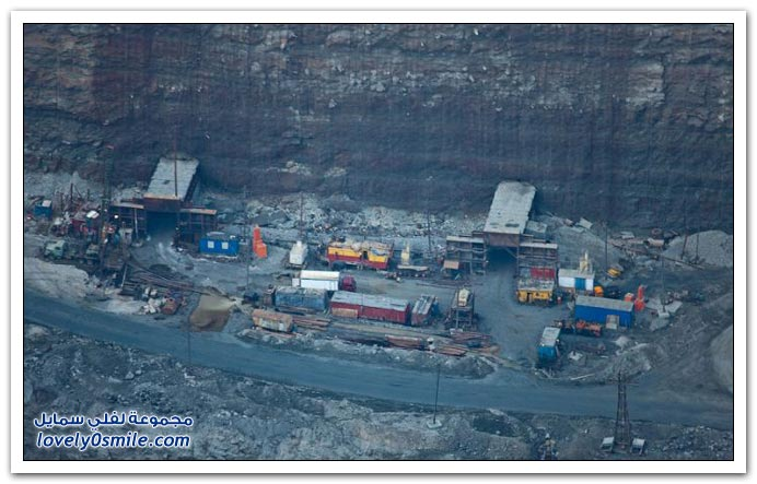 أكبر منجم ألماس في روسيا