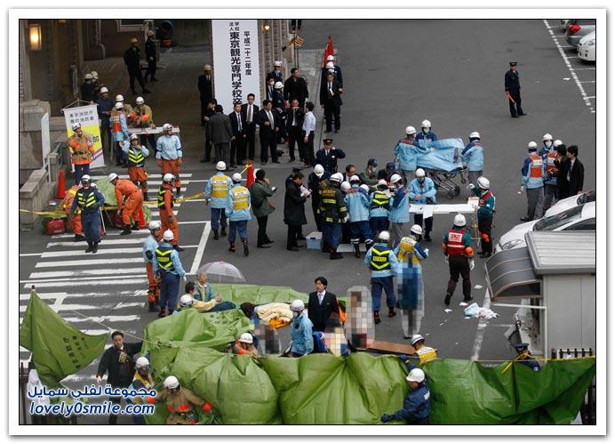 صور وفيديو: أقوى زلازل اليابان من 140 عام
