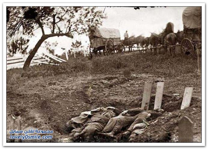 صور نادرة للحرب الأهلية في أمريكا