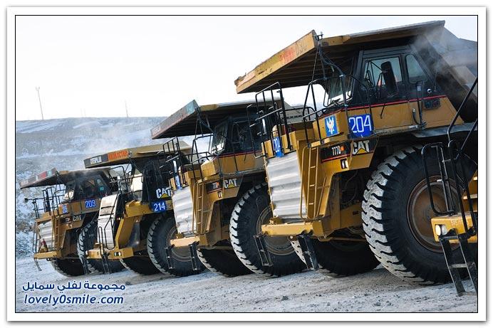 أحد حقول الذهب في كازاخستان