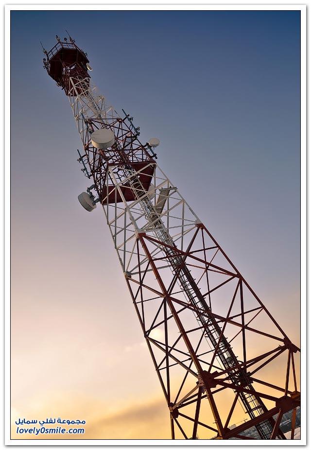 صور من أحد فروع شركة ميجافون للإتصالات في روسيا
