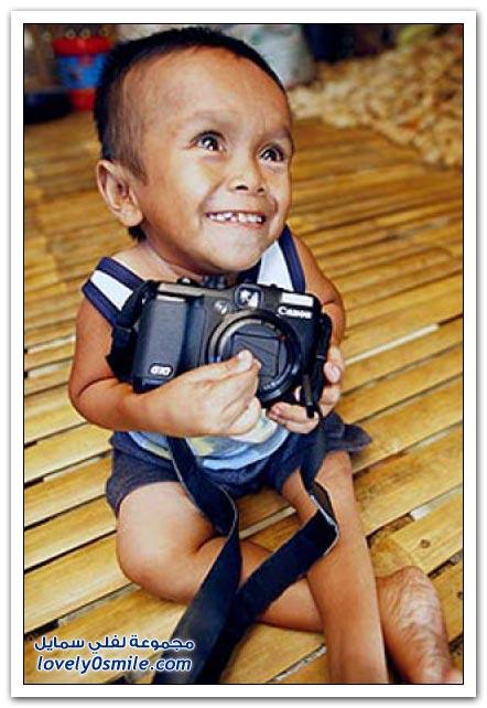 أصغر رجل في العالم