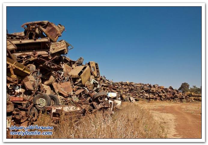 مقبرة آلة الحرب في إريتريا