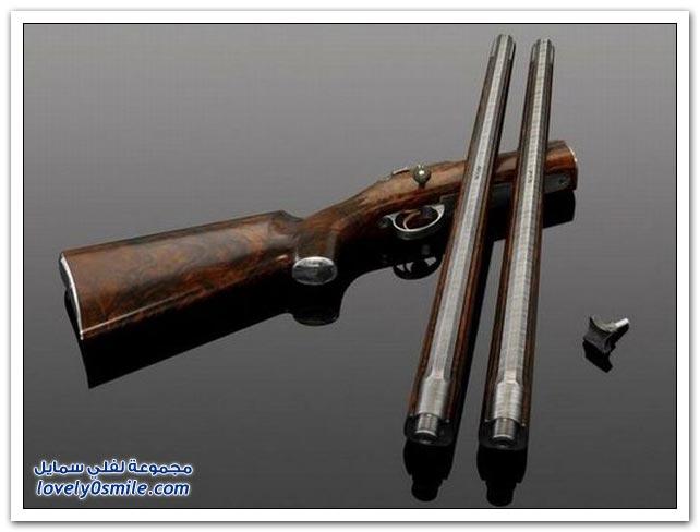 بندقية بـ 820000 دولار من صنع شركة سويدية