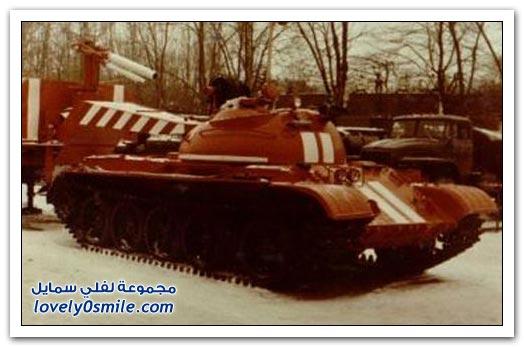 دبابات إطفاء الحريق من عهد الإتحاد السوفيتي