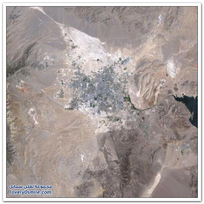 صور من الأعلى لتوسع بعض مدن العالم