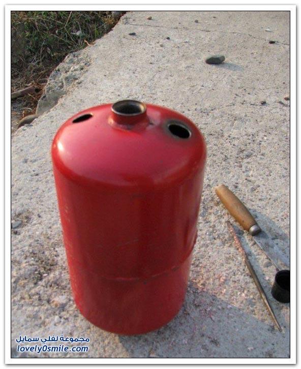 الشيشة بطفاية حريق