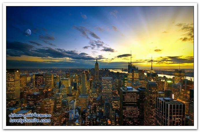 صور الليل في مدن حول العالم ج4