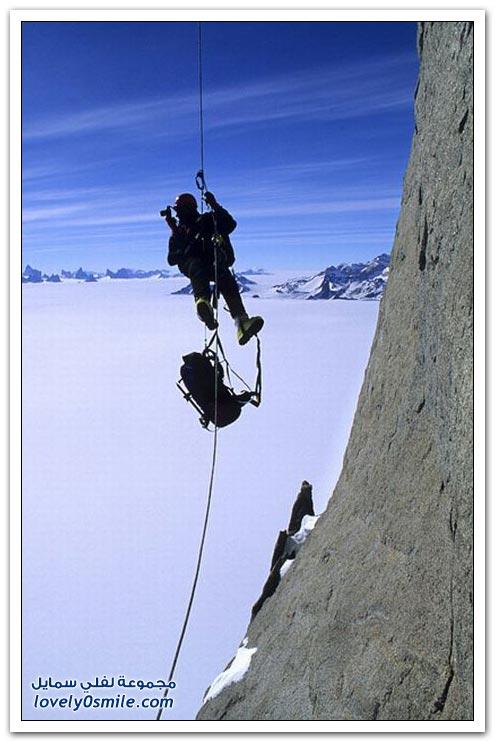 التخييم على سفوح الجبال