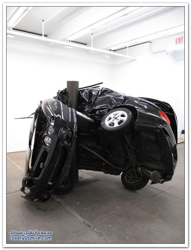 حوادث سيارات عنيفة وضعت بمتحف في لندن