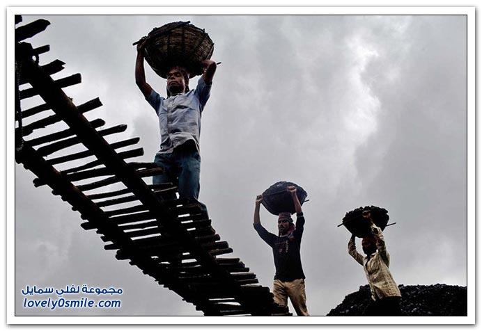 مناجم الفحم في الهند واستغلال الأطفال