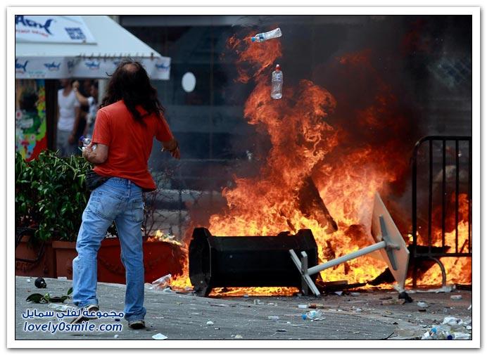 مظاهرات في اليونان للمطالبة بتوفير وظائف ثابتة