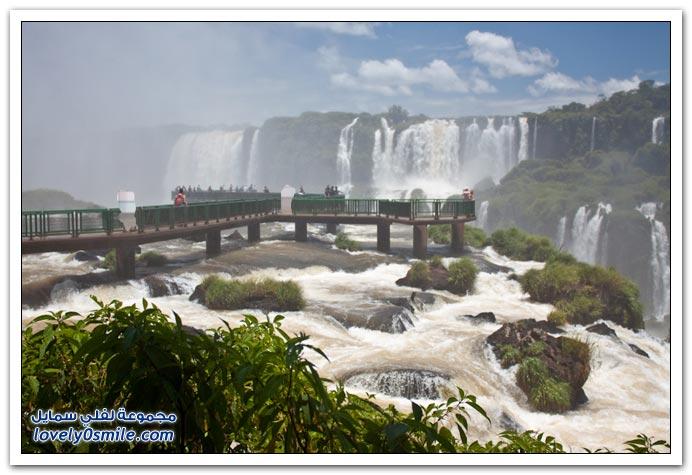 شلالات البرازيل