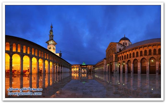 الجامع الأموي الكبير دمشق Great-Umayyad-Mosque