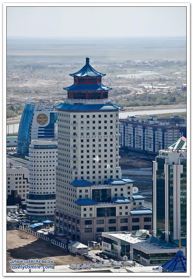 جمهورية كازاخستان والتطور العمراني فيها